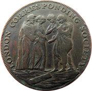 ½ Penny (Middlesex - London / Corresponding Society) – obverse