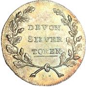1 Shilling (Devon - Morgan's / Eddystone Lighthouse) – reverse