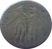 ½ Penny (Somerset - Bristol / Niblock) – obverse