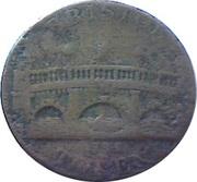 ½ Penny (Somerset - Bristol / Niblock) – reverse