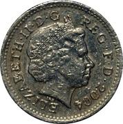 1 Pound - Elizabeth II (4th portrait; Forth Bridge) -  obverse