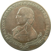 ½ Penny (Middlesex - D I Eaton) – obverse