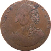 ½ Penny (Middlesex - National Series / Princess of Wales) – obverse