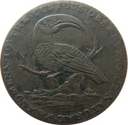 ½ Penny (Middlesex - T. Hall) – obverse