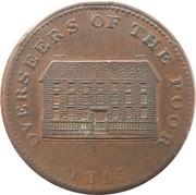 1 Penny (Yorkshire - Sheffield / Workhouse) – reverse