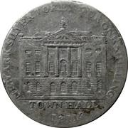1 Shilling (Nottingham - Newark / Town Hall) – obverse