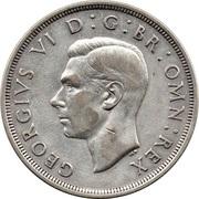 1 Crown - George VI (Coronation) -  obverse