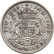 1 Crown - George VI (Coronation) -  reverse