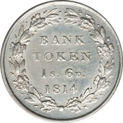 1 Shilling 6 Pence - George III (Bank of England Token) – reverse