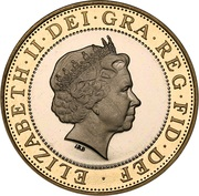 2 Pounds - Elizabeth II (4th portrait; Technology) -  obverse