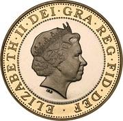 2 Pounds - Elizabeth II (4th portrait; Technology) -  obverse