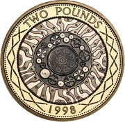 2 Pounds - Elizabeth II (4th portrait; Technology) -  reverse