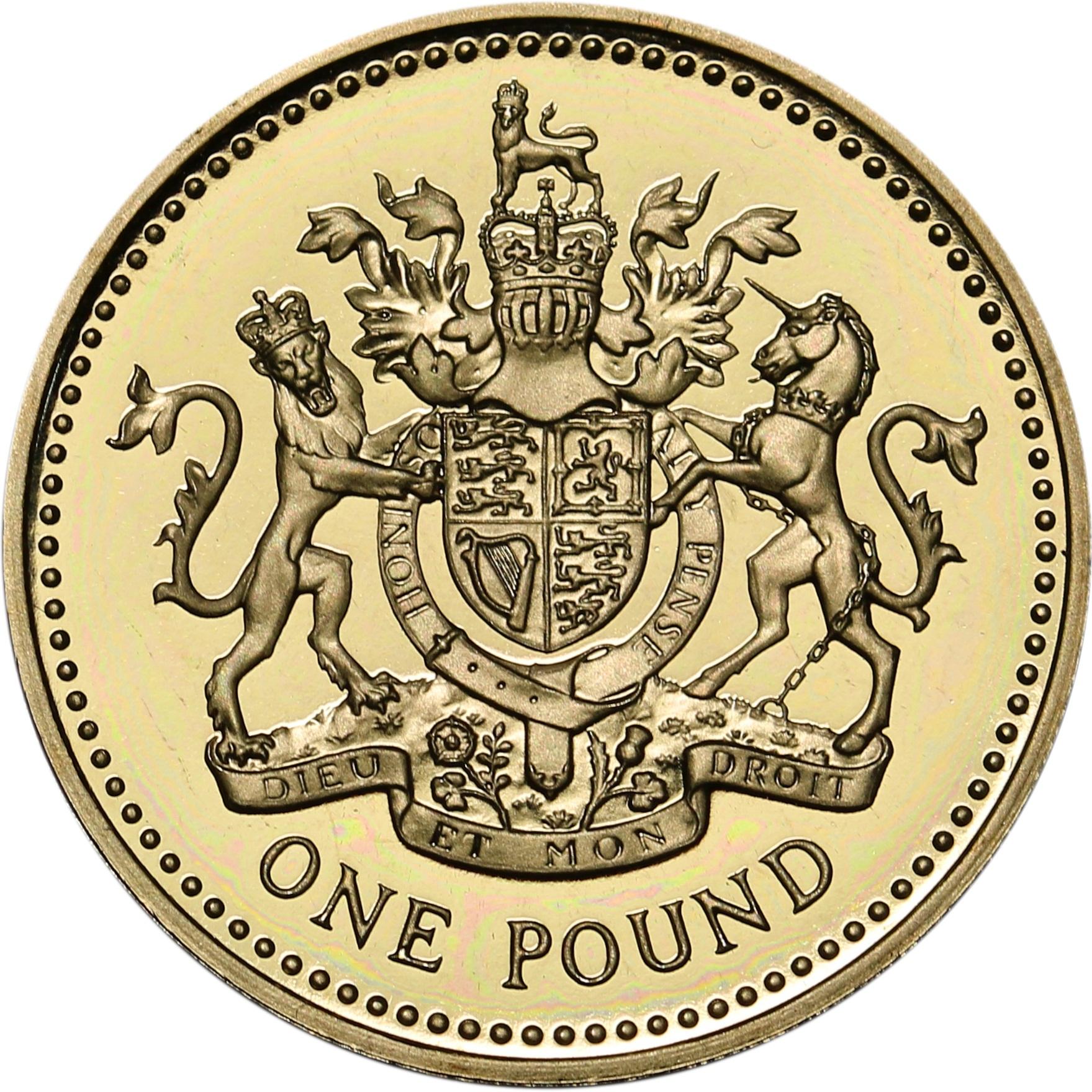 1 Pound - Elizabeth II (4th portrait
