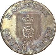 1 Shilling (Hampshire - To Facilitate Trade) – obverse