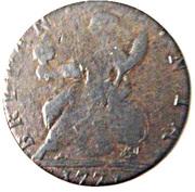 ½ Penny (Brutus Sextus - Britannia) -  reverse
