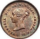 ¼ Farthing - Victoria (Colonial issues) – obverse