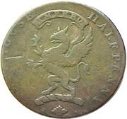 ½ Penny (Kirkcudbrightshire - Thomas Scott) -  obverse