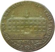 ½ Penny (Kirkcudbrightshire - Thomas Scott) -  reverse