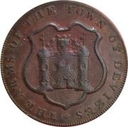 ½ Penny (Wiltshire - Devizes / J. Baster) – obverse