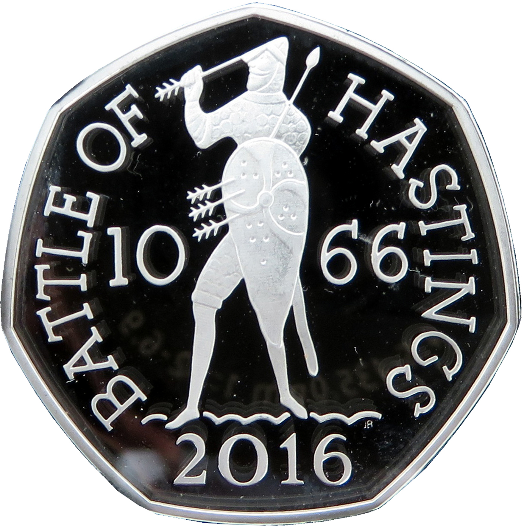 BATTLE OF HASTINGS 950th ANNIVERSARY GREAT BRITAIN 2016 50 PENCE UNC