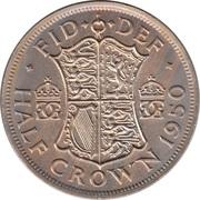 ½ Crown - George VI (3rd type; no 'IND:IMP') -  reverse