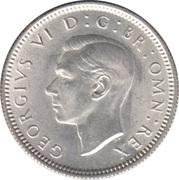6 Pence - George VI -  obverse