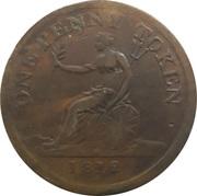 1 Penny (Sheffield - For Public Accommodation) – reverse