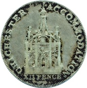 1 Shilling (Sussex - Chichester / Accommodation) – obverse