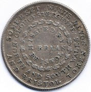 1 Shilling (Somersetshire - Bristol / E. Bryan) – reverse