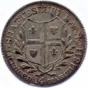 1 Shilling (Dorsetshire - Shaftesbury / Bank Token) – obverse
