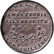 1 Shilling (Dorsetshire - Poole / J. Ferris) – reverse