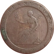 1 Penny (Yorkshire / Sheffield - S. Hobson & Sons) – reverse