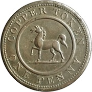 1 Penny (Birmingham & South Wales) – reverse