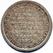 6 Pence (Somersetshire - Bristol / To Facilitate Trade) – reverse