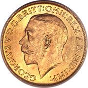 1 Sovereign - George V (Ottawa mint) -  obverse