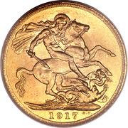 1 Sovereign - George V (Ottawa mint) -  reverse