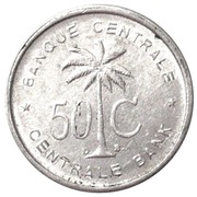 50 Centimes -  reverse
