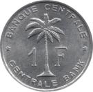 1 Franc – reverse