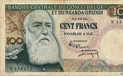 100 Francs (Léopold II) -  obverse