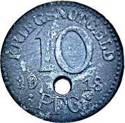 10 Pfennig - Rudolstadt – reverse