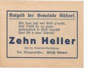 10 Heller (Rüstorf) -  reverse