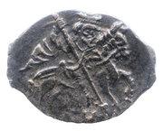 Kopeck - Ivan IV (Velikiy Novgorod; Я-ДМ) – obverse