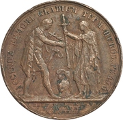 Medal - Alexander I (Declaration of war with the Ottoman Empire) – reverse