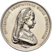 Medal - Maria Feodorovna (Women's Gymnasias) – obverse