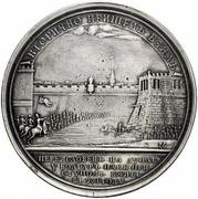 Medal - Grand Duke Svyatoslav (№ 75; Capture of the Bulgarian city of Pereyaslavets on the Danube) -  obverse