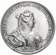 Medal - Anna (Glory of Empress Anna) – obverse