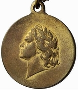 Medal - 200 Years Jubilee of the Victory in the Battle of Poltava – obverse