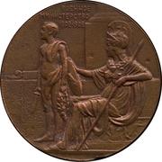 Medal - Nicholas II (Ministry of War 100th Anniversary) – reverse