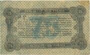 75 Rubles (Zhytomyr - National Bank) – reverse