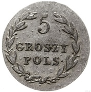 5 Groszy Polskich - Aleksandr I – reverse